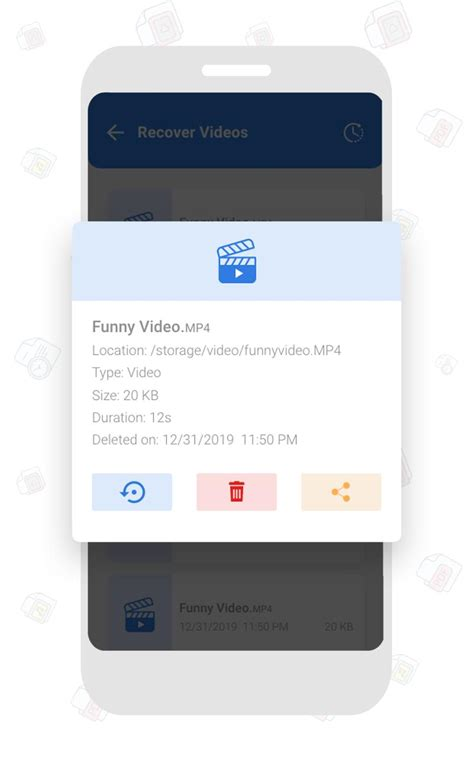 Deleted Video Recovery, Recover deleted files for Android
