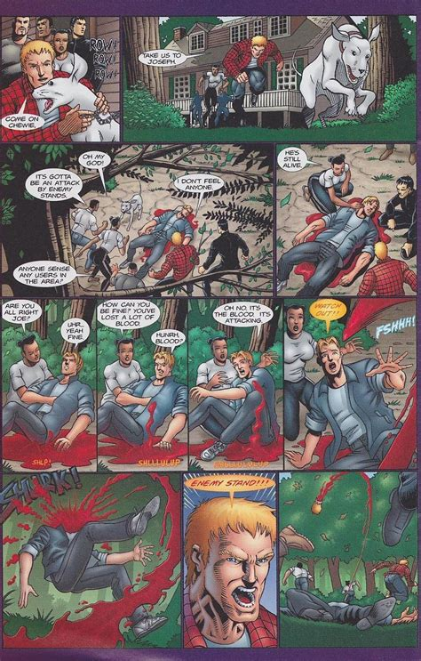 In the 90's, there was a Jojo comic ripoff named Diesel