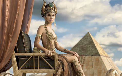 Elodie Yung as Hathor Gods of Egypt Wallpapers   HD